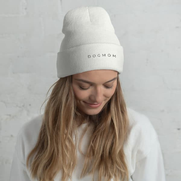girl wearing a white toque