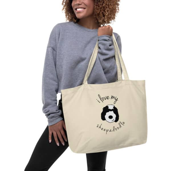 Girl carrying a tote